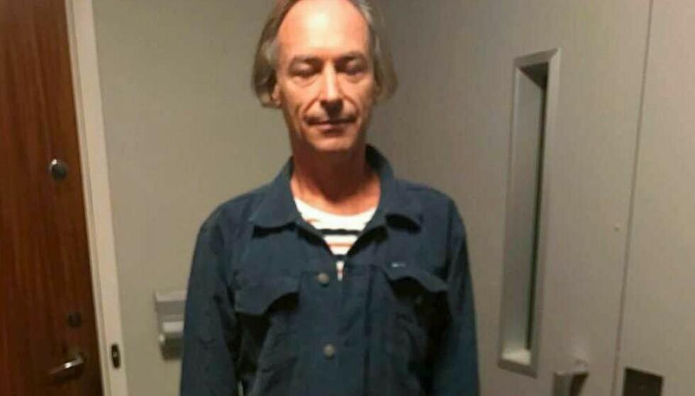 Mark Lorentzon er mannen som er etterlyst etter eksplosjonen i Göteborg forrige uke. Foto: Svensk politi