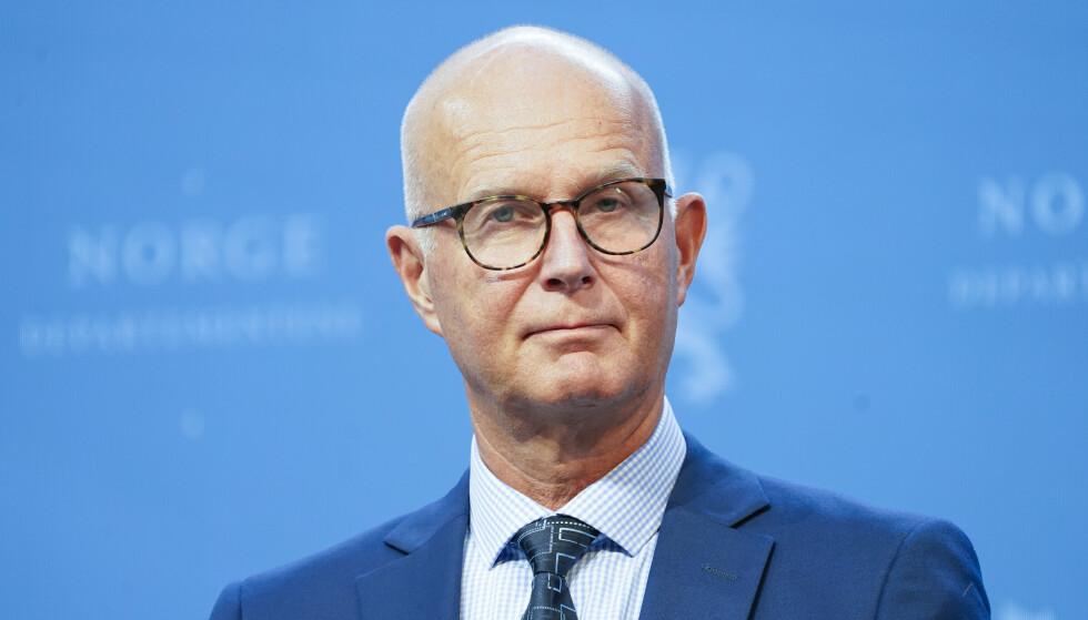 Helsedirektør Bjørn Guldvog .Foto: Torstein Be / NTB