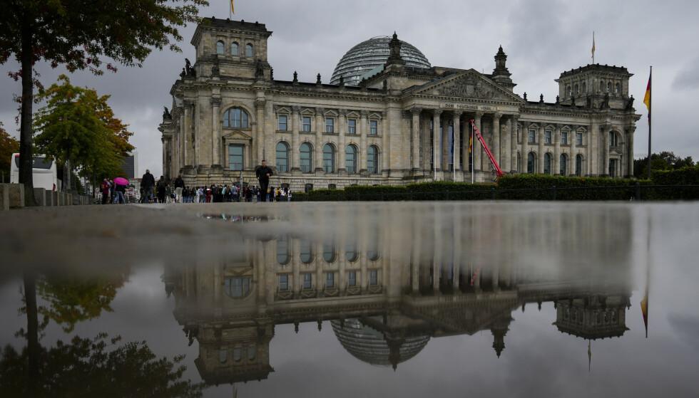 Det ligger an til at Tysklands nye regjering etter valget kan bestå av SPD, De Grønne og FDP. Foto: Markus Schreiber / AP / NTB