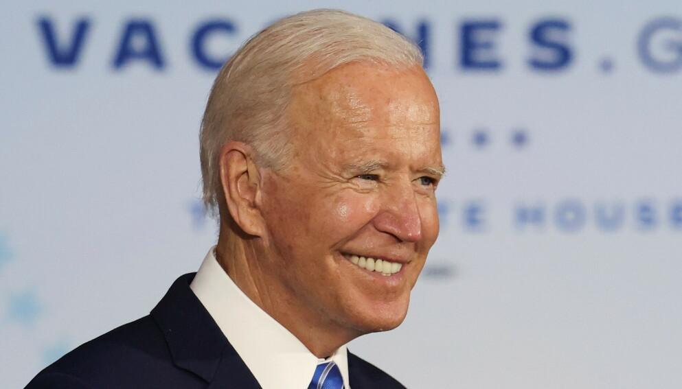 Magasinet Time trekker frem Joe Biden som en av favorittene. (Foto: Reuters/NTB)