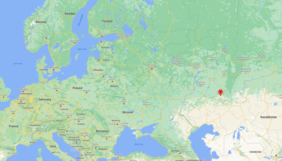 Kart: Google Maps.