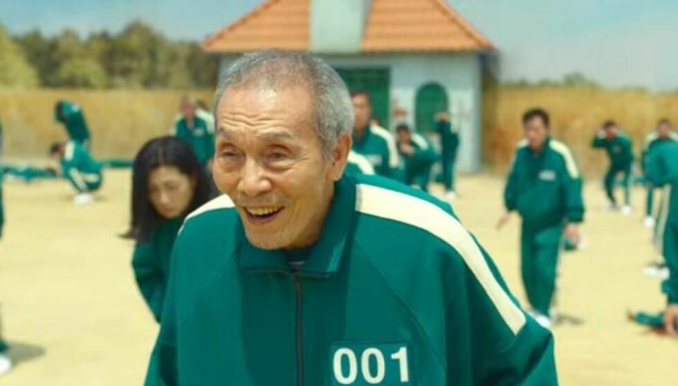 Spiller nummer 001 Oh Il-Nam er av karakterene vi blir godt kjent med i serien. Foto: Netflix
