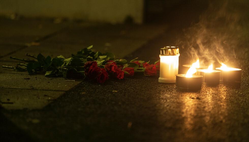 Det var torsdag kveld at en 20 år gammel mann ble skutt på Mortensrud. Han døde fredag av skadene. Foto: Trond R. Teigen / NTB