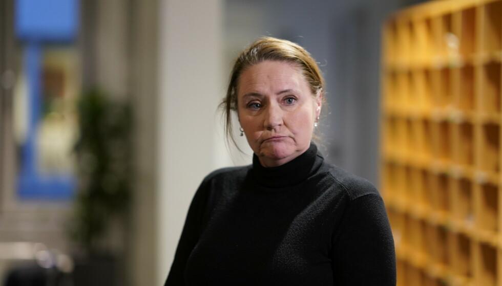 Eva Kristin Hansen fra Arbeiderpartiet er valgt til ny stortingspresident. Foto: Heiko Junge / NTB