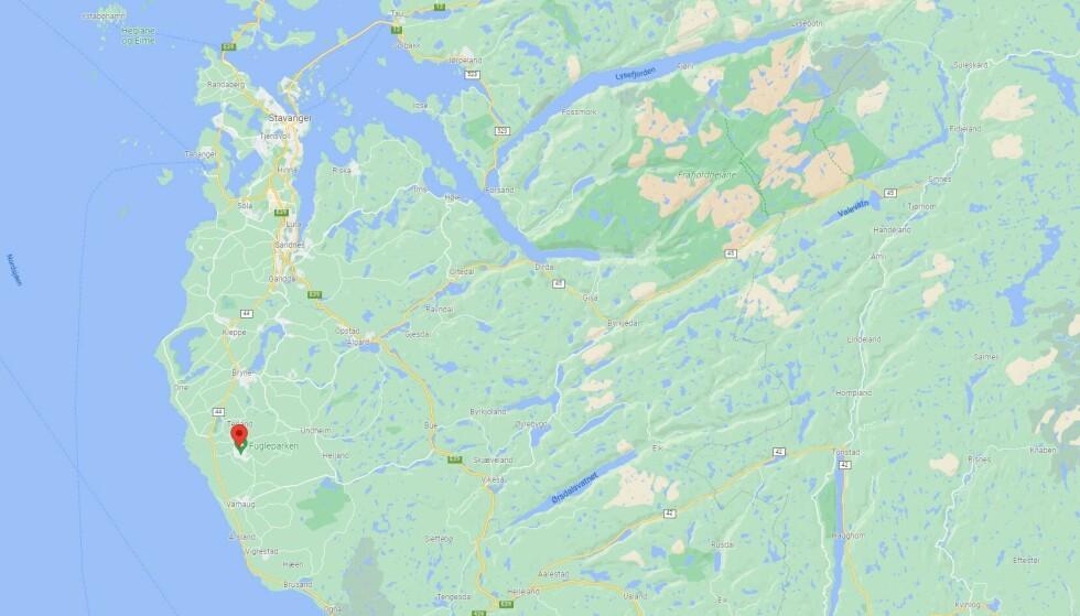 Illustrasjon: Google Maps