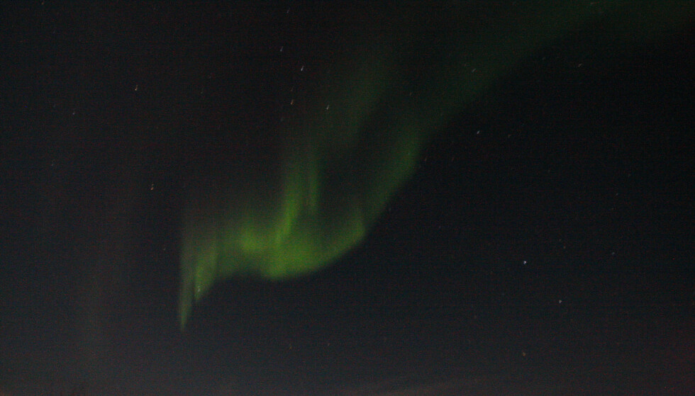 Nå har man mulighet til å se nordlyset så langt som sør på Østlandet .Foto: Lise serud / NTB