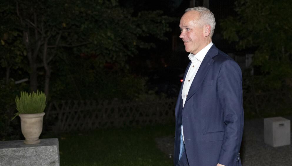 Finansminister Jan Tore Sanner (H) kutter i oljepengebruken. Foto: Javad Parsa / NTB