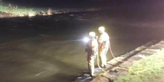 Image: Frykter tre personer har falt i elv i Hardanger