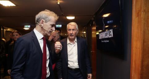 Image: Jagland: - Han ønsket ikke at jeg skulle ta gjenvalg