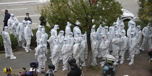 Image: Millioner testes og nye nedstenginger i Kina etter coronasmitte i tre storbyer