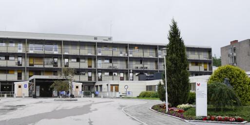 Image: Coronapasient døde på Sykehuset Østfold