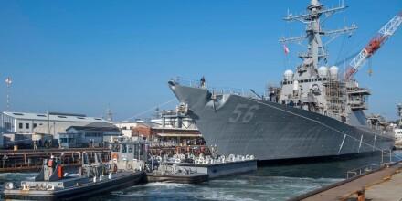 Image: Russland jaget amerikansk marinefartøy ut av omstridt farvann