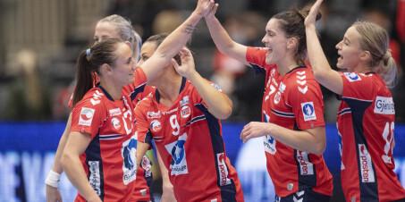 Image: Slik spilles Norges kamper i håndball-EM