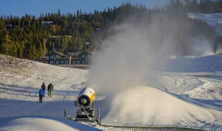 Image: Farevarsel for snø i deler av Sør-Norge