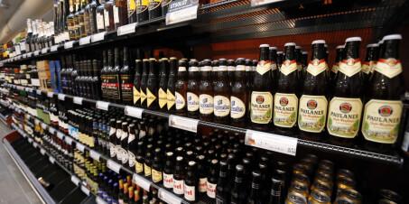 Image: Alkoholsalget i Norge øker kraftig