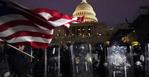 Image: Frykt og avsky på Capitol Hill: – Situasjonen er eksplosiv