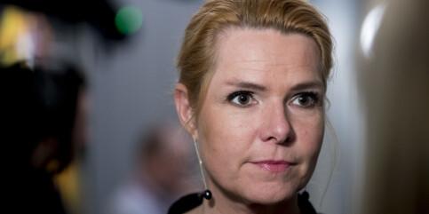 Image: Flertall for at Danmarks tidligere innvandringsminister stilles for riksrett