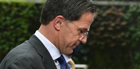 Image: Nederlands regjering går av etter trygdeskandale