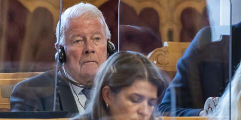 Image: Carl I. Hagen kan bli eneste representant over 70 på Stortinget