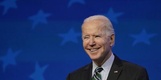 Image: Biden planlegger store endringer etter Trumps kaotiske presidentskap