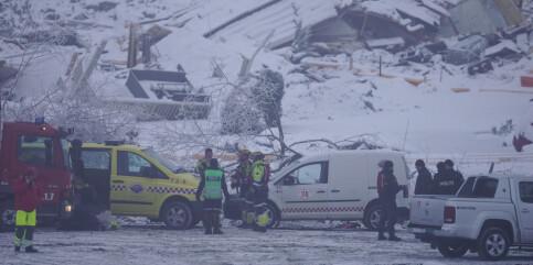 Image: Letemannskaper inn i skredområdet – søker etter tre savnede personer
