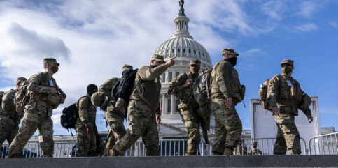 Image: Sikkerhetssjef i Kongressen: Politikerne ville ikke ha soldater her