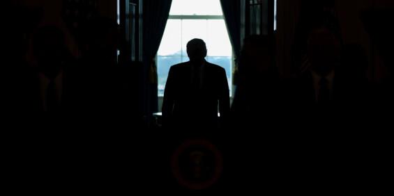 Image: Nå er det slutt for Donald Trump