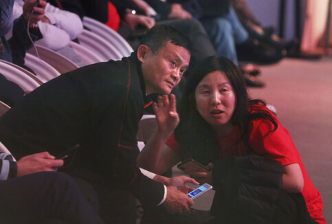 Image: Alibaba-gründer Jack Ma har vist seg for første gang på to måneder på statlig TV