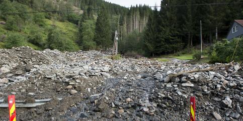Image: NVE varsler om fare for jordskred på Østlandet