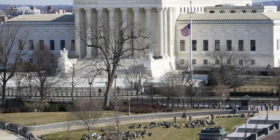 Image: USAs høyesterett fikk bombetrussel