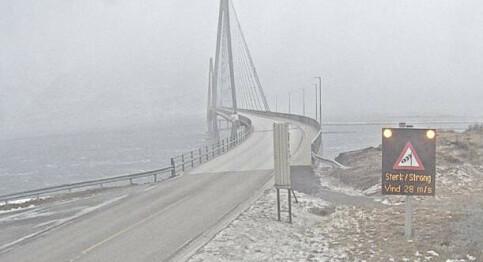 Image: Ekstremværet Frank på full fart mot nord – vindkast på 50 sekundmeter påHelgeland