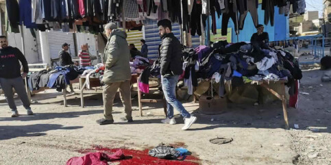 Image: Bagdad: Lot som han var syk - sprengte seg selv i lufta