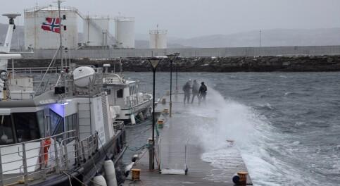 Image: E6 stengt - flere tusen uten strøm