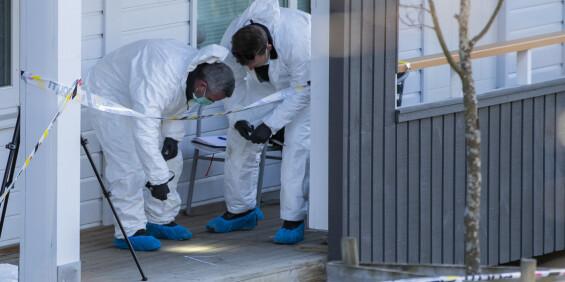 Image: 18 års fengsel for ekskone-drap på Strømmen