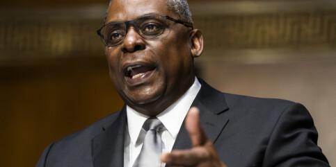 Image: Senatet har godkjent general Lloyd Austin som USAs forsvarsminister