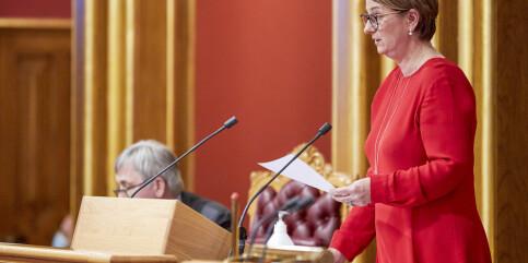 Image: Stortinget stenger ned neste uke