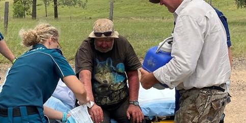 Image: Savnet mann funnet etter 18 døgn – levde på sopp og vann
