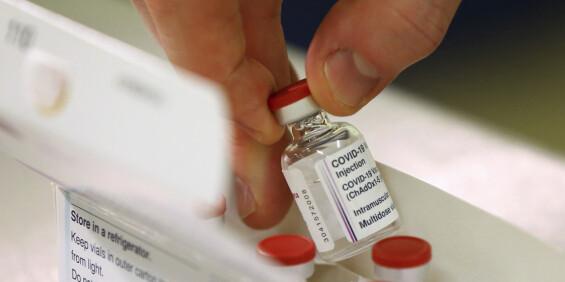 Image: FHI-overlege: Lavere leveranse av coronavaksine får konsekvenser
