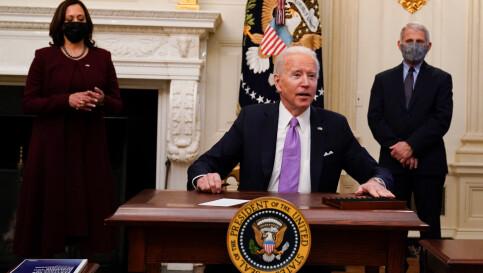Image: USA innfører innreiseforbud for personer fra 30 land – deriblant Norge