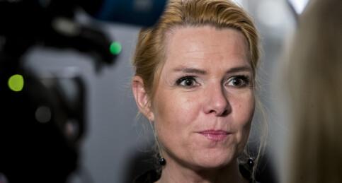 Image: Riksrettstiltalen mot danmarks tidligere innvandringsminister er klar