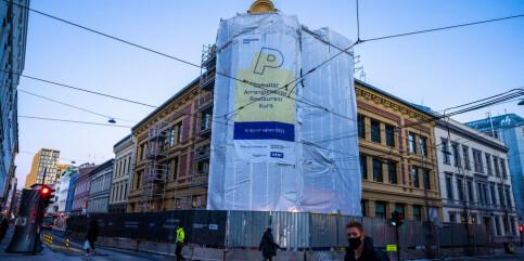 Image: Stort smitteutbrudd på byggeplass i Oslo – Pressens hus rammet