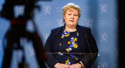 Image: Solberg talte til nasjonen: - Norge er i en særstilling