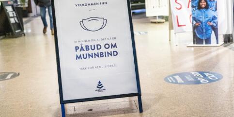 Image: Koronalettelser i store deler av Norge