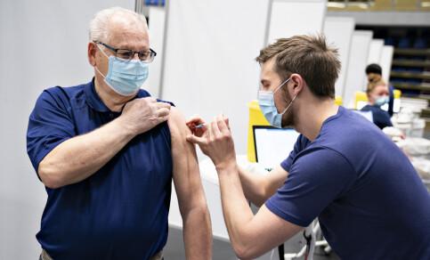 Image: Stresstest i Danmark: Vaksinerte 105.000 på én dag