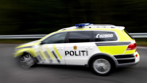 Image: Politiet rykket ut til buss med coronasmittet kvinne