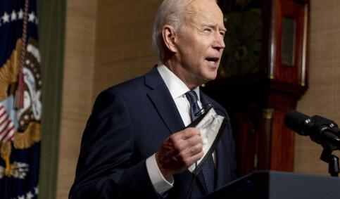 Image: Biden bekrefter nye sanksjoner mot Russland: Utviser ti diplomater