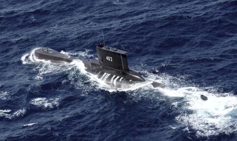 Image: Savnet indonesisk ubåt kan ligge for dypt for redningsaksjon