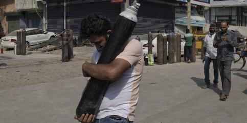Image: Indias unge bekjemper pandemien med teknologi