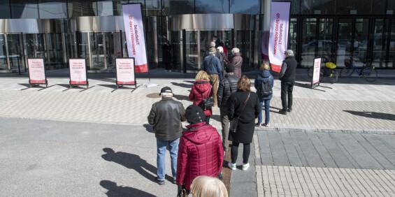 Image: Sverige har passert 1 million smittede