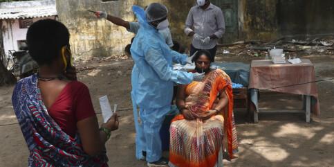 Image: Over 4.000 døde på en dag i India